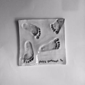 Feet imprint